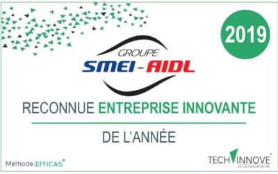 SMEI-AIDL reconnue  comme entreprise innovante