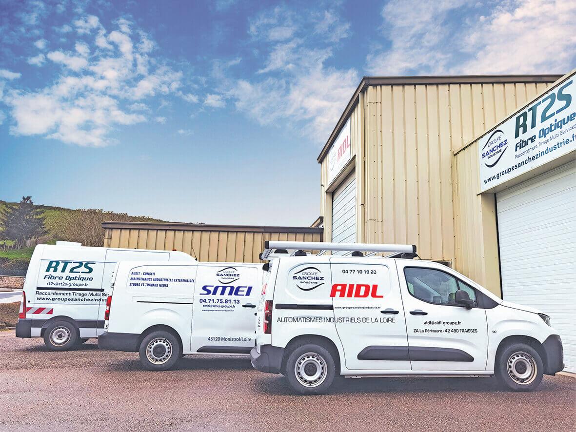 Vahicules fibre maintenance et courant fort Sanchez Industrie